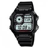 CASIO Standard Digital [AE-1200WH-1AVDF] - Jam Tangan Pria Sport